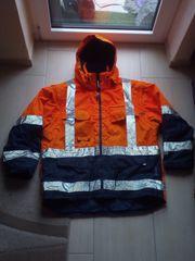 Elysee dicke warme Winter Sicherheits-Warnschutz-Arbeitsjacke