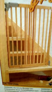 Tür- und Treppengitter Massivholz sehr