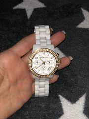 Michael Kors Keramik Uhr Weiß