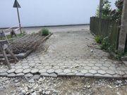 betonpflaster Pflaster 6 Eck