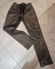 Nappa-Lederhose schwarz Größe 40