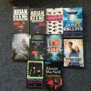 Bücherpaket Horror, Thriller,