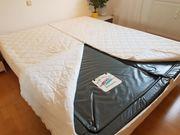 kuschelig warmes Wasserbett mit Massagefunktion