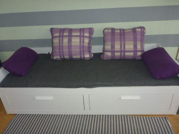 BRIMNES Tagesbett Ikea in München - Betten kaufen und verkaufen über ...