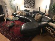Ledersitzgarnitur inkl. Couch