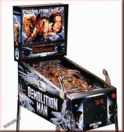 Demolotion Man Pinball Flipper Williams