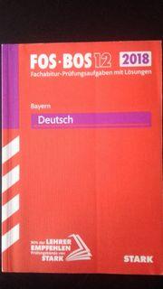 FOS - BOS 12 DEUTSCH Bayern