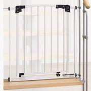 IMPAQ Treppen Schutzgitter Absperrung weiß