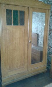 100 Jahre altes Schlafzimmer