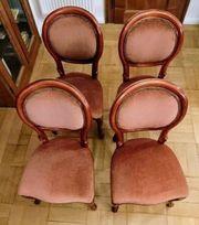 4x Stilmöbel Stühle