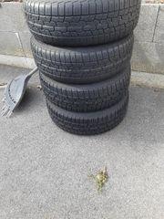 Reifen Golf 4 auf stahlfelgen