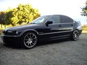 Tür BMW E46 Orientblau h