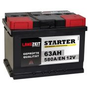 Autobatterie 63Ah 12V *