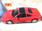 Maisto Modellauto Ferrari 348TS 1