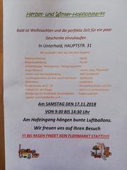 Privater Hofflohmarkt in Unterhaid bei