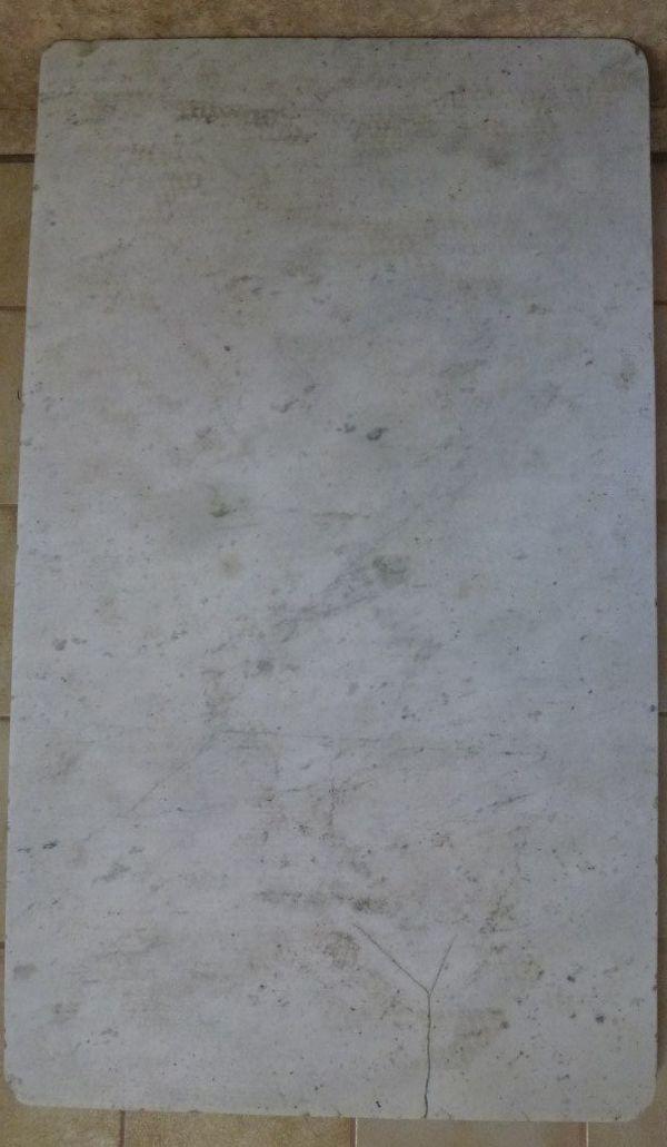 Marmorplatte Carrara Travertin » Sonstiges für den Garten, Balkon, Terrasse