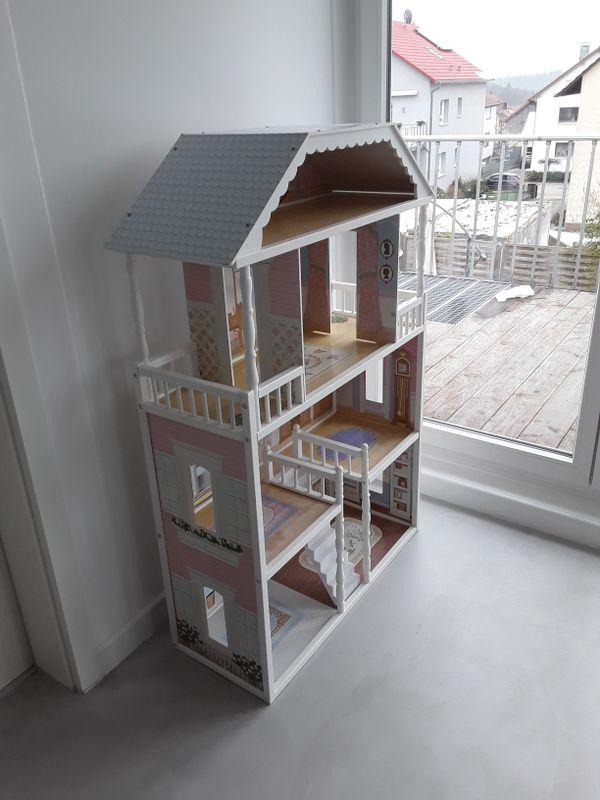 holz puppenhaus kaufen holz puppenhaus gebraucht. Black Bedroom Furniture Sets. Home Design Ideas