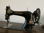 Gritzner R alte Nähmaschine mit