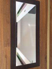 Garderoben Spiegel dunkelbraun
