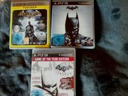 PS3 16 Spiele batman arkham