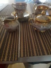 5 tlg kaffee Set bavaria