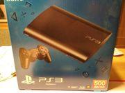 PS3 500GB incl.
