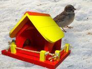 Futterhaus für Wildvögel,