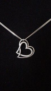 Halskette Silber Herz