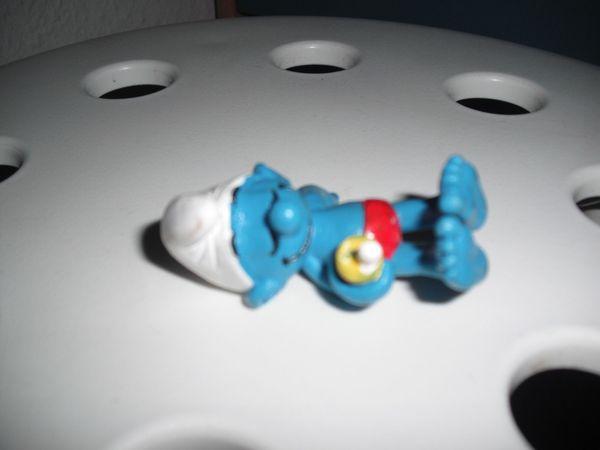 Schlaf Schlumpf orginal Schleich