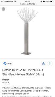 stehlampe ikea haushalt m bel gebraucht und neu kaufen. Black Bedroom Furniture Sets. Home Design Ideas