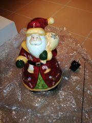 Weihnachtsmann aus Ton