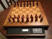 Schachcomputer Mephisto Exclusive Holzbrett Bedienungsanleitung