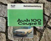 Betriebsanleitung Audi 100 Coupé S