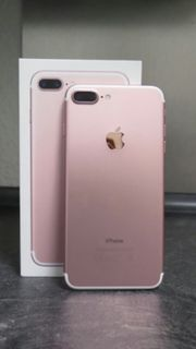 IPHONE 7 PLUS ROSEGOLD 256