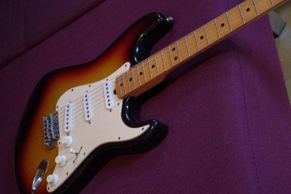 Luxor Stratocaster Vintage E-Gitarre 70er Jahre in Ostelsheim ...