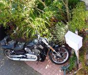 Motorrad fahren , Harley