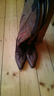 Cowboystiefel Buffalo Leder
