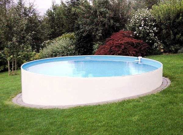 pool 500x120cm rundpool stahlwandbecken stahlwandpool rund in alzenau sonstiges f r den garten. Black Bedroom Furniture Sets. Home Design Ideas