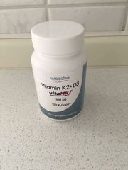 Woscha Vitamin K2 D3 NEU