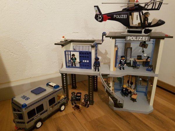 Playmobil Polizeistation In Hemhofen Spielzeug Lego Playmobil