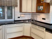 Schüller Einbauküche hochwertig Vanille-Mahagoni