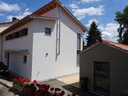 sehr helles Einfamilienhaus Neubau Terrasse