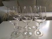 6 Weingläser / Weinglas (