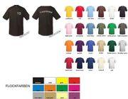 100x T-Shirts mit Vereinsnamen Zahl