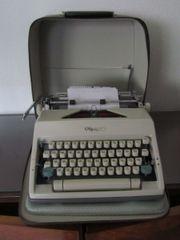 mechanische Reiseschreibmaschine Olymp