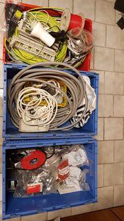 Installationsmaterial für Elektriker