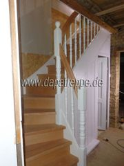 Treppen Holztreppen Bolzentreppen Massivholztreppen aus