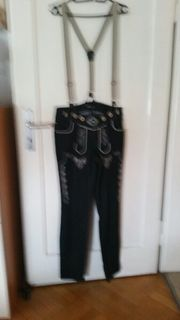 Jeans Trachtenhose mit