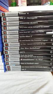 25x PlayStation2 Spiele PS2-James Bond
