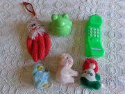 Spielzeug Schnickschnack 3 Klemm-Figuren 1